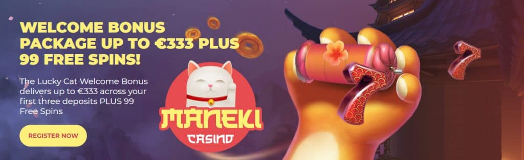 Maneki Online Casino met iDeal